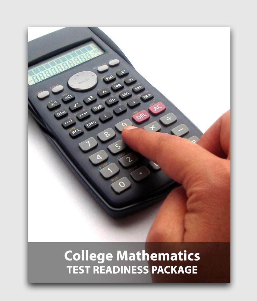 CLEP Mathematics (5-Pack) - Test readiness package (Online test) [Online Code]