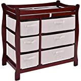 Amazon Com Badger Basket Modern Changing Table With