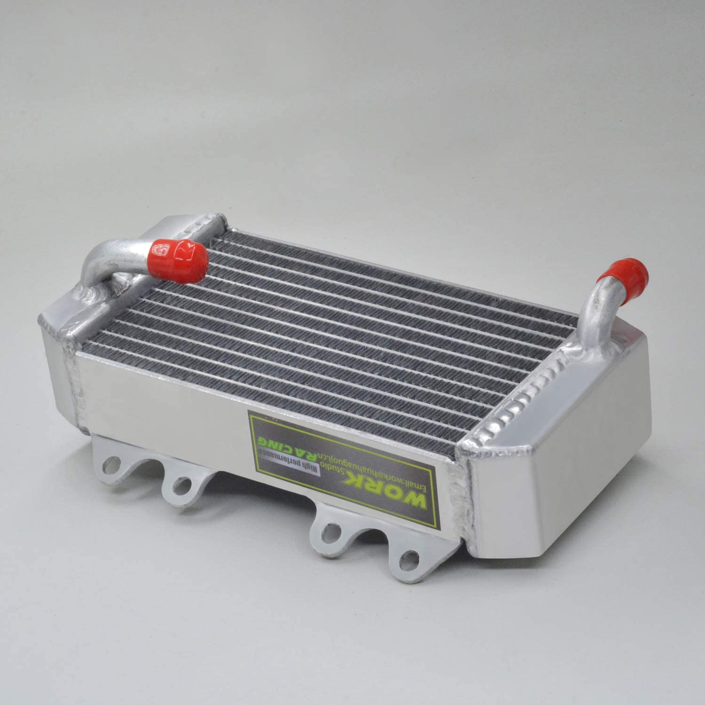 Braced aluminum radiator fit Honda CRF 250 R//CRF250R//CRF250 2014 2015 Left+Right