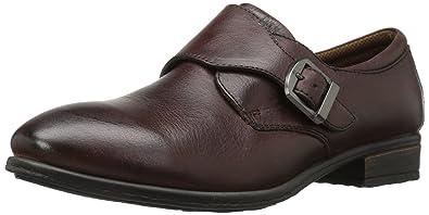 The 2017 Version Eastland Farrah Monk Strap Slip On Walnut Leather