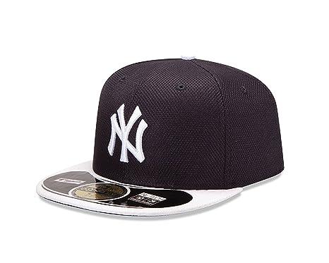 reputable site 5a0ba 3a76c New Era Men s 59Fifty MLB Hat New York Yankees Diamond Era Fitted Cap ...