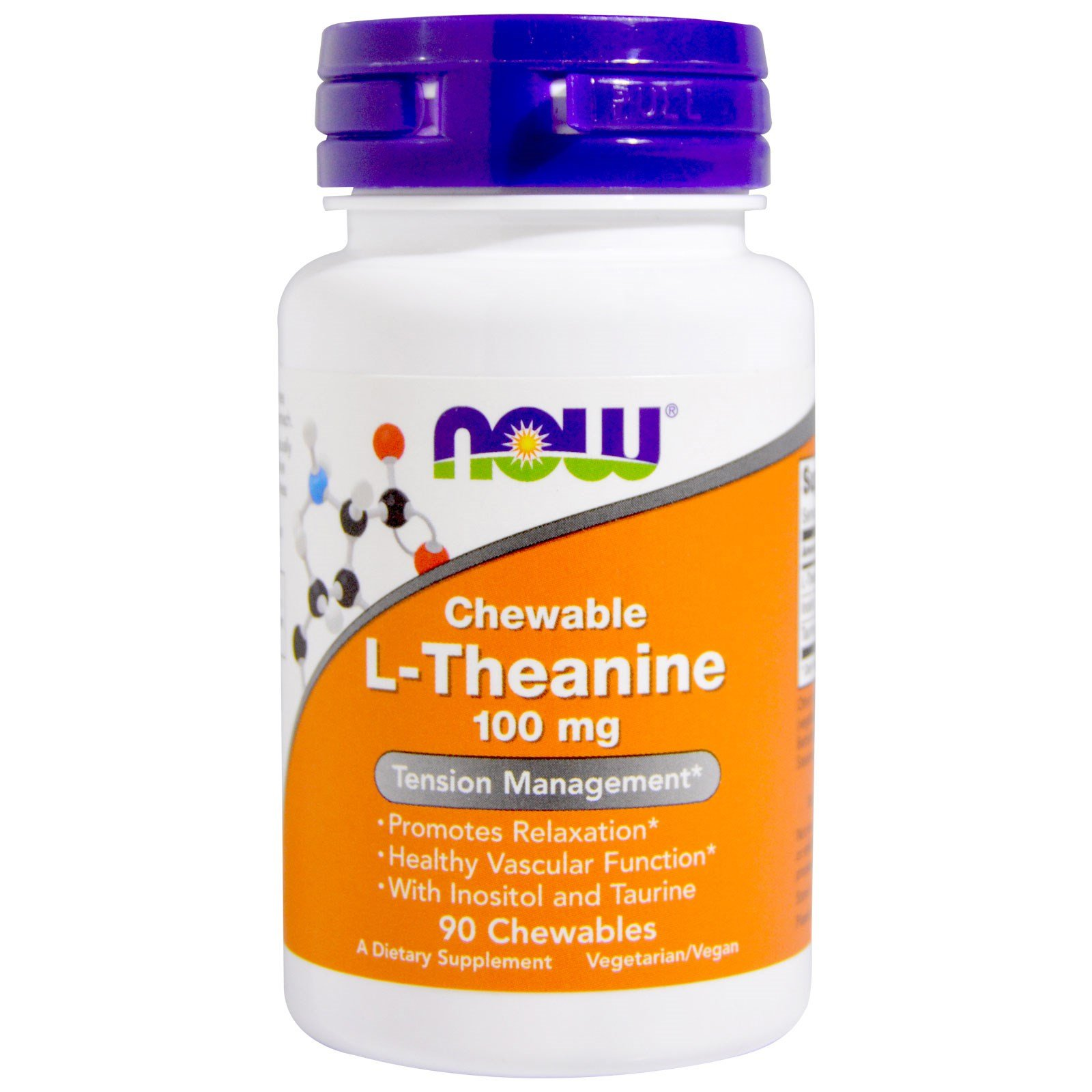 Now L Theanine, 90 Chewables