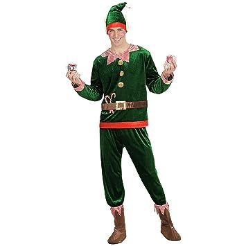 WIDMANN Adultos Disfraz Elf Santas Utensilios: Amazon.es: Juguetes ...