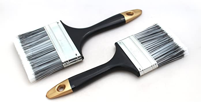 Glass paint brushes
