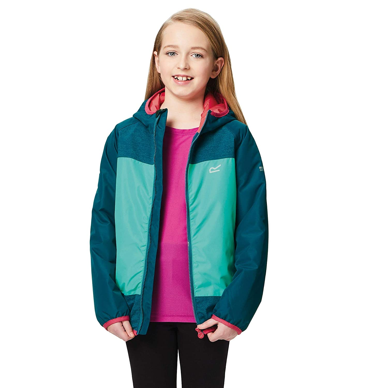 Regatta Volcanics II Waterproof and Breathable Lightweight Insulated Reflective Hooded Veste Enfant