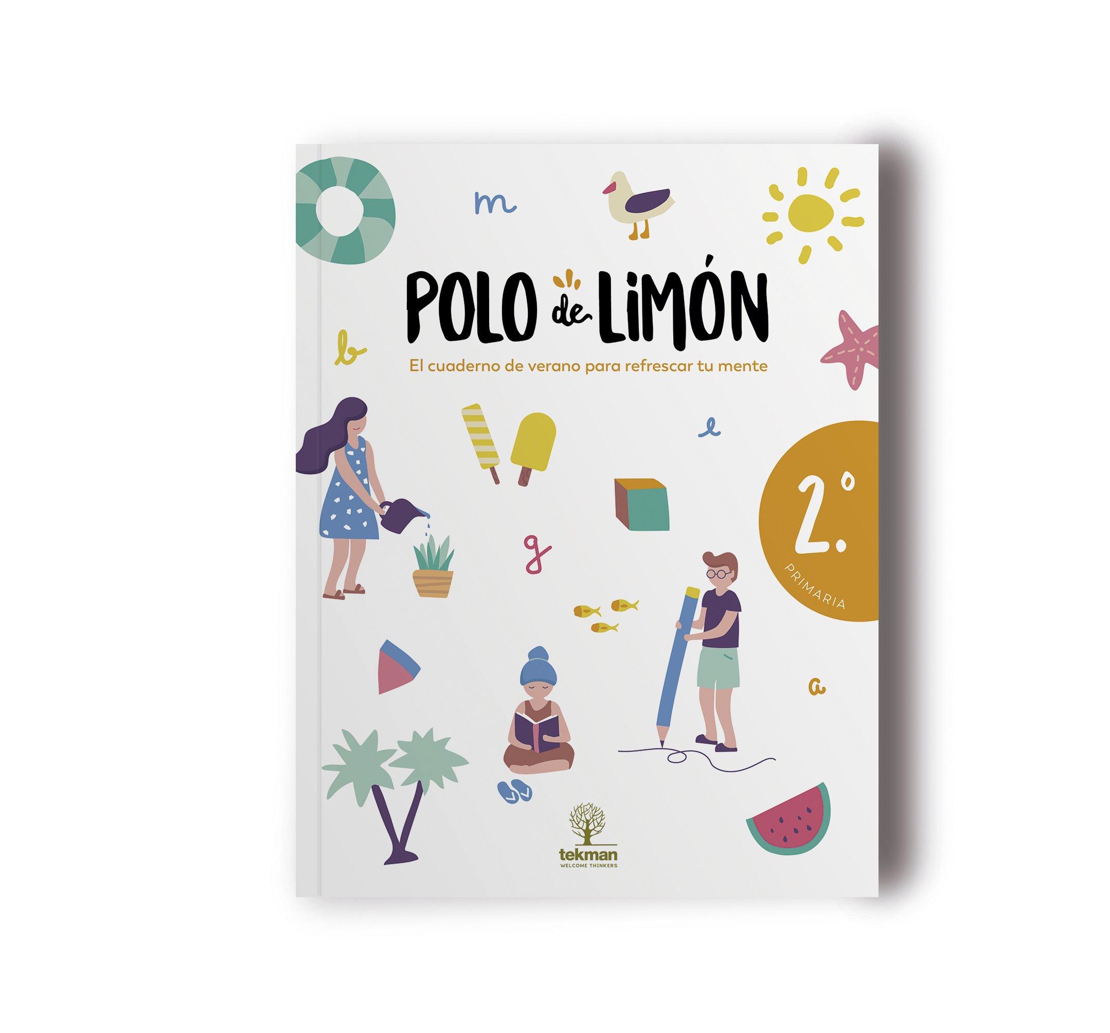POLO DE LIMÓN - 2º PRIMARIA: Cuaderno de vacaciones: Amazon.es ...