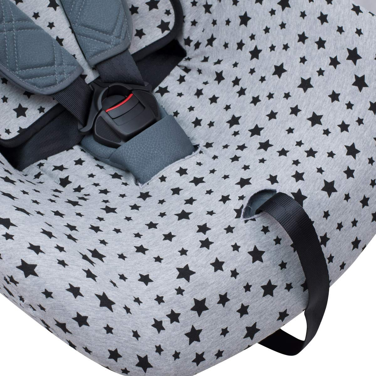 JANABEBE Cover Liner Compatible with Chico Nextfit Black Star