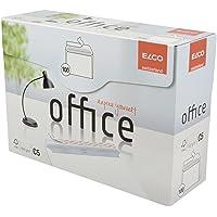 Elco 74535-12 Boite de 100 enveloppes Patte auto-adhésive avec bande protectrice Format C5 Blanc