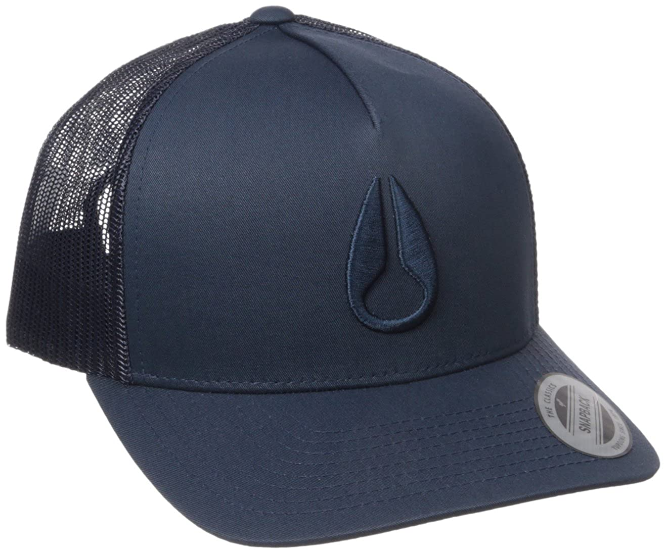 NIXON Men's Iconed Trucker Hat All Navy One Size Nixon Men's Apparel C1862605