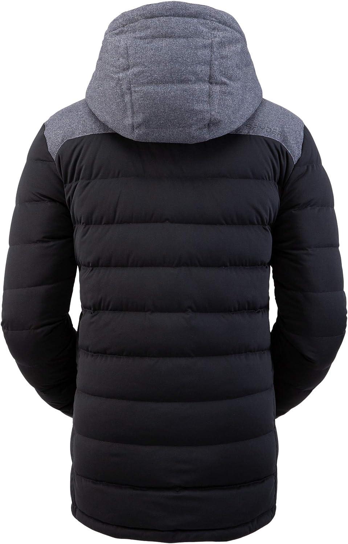 Full-Zip Hooded Winter Jacket Spyder Men/'s Transit Gore-Tex Infinium Down Parka