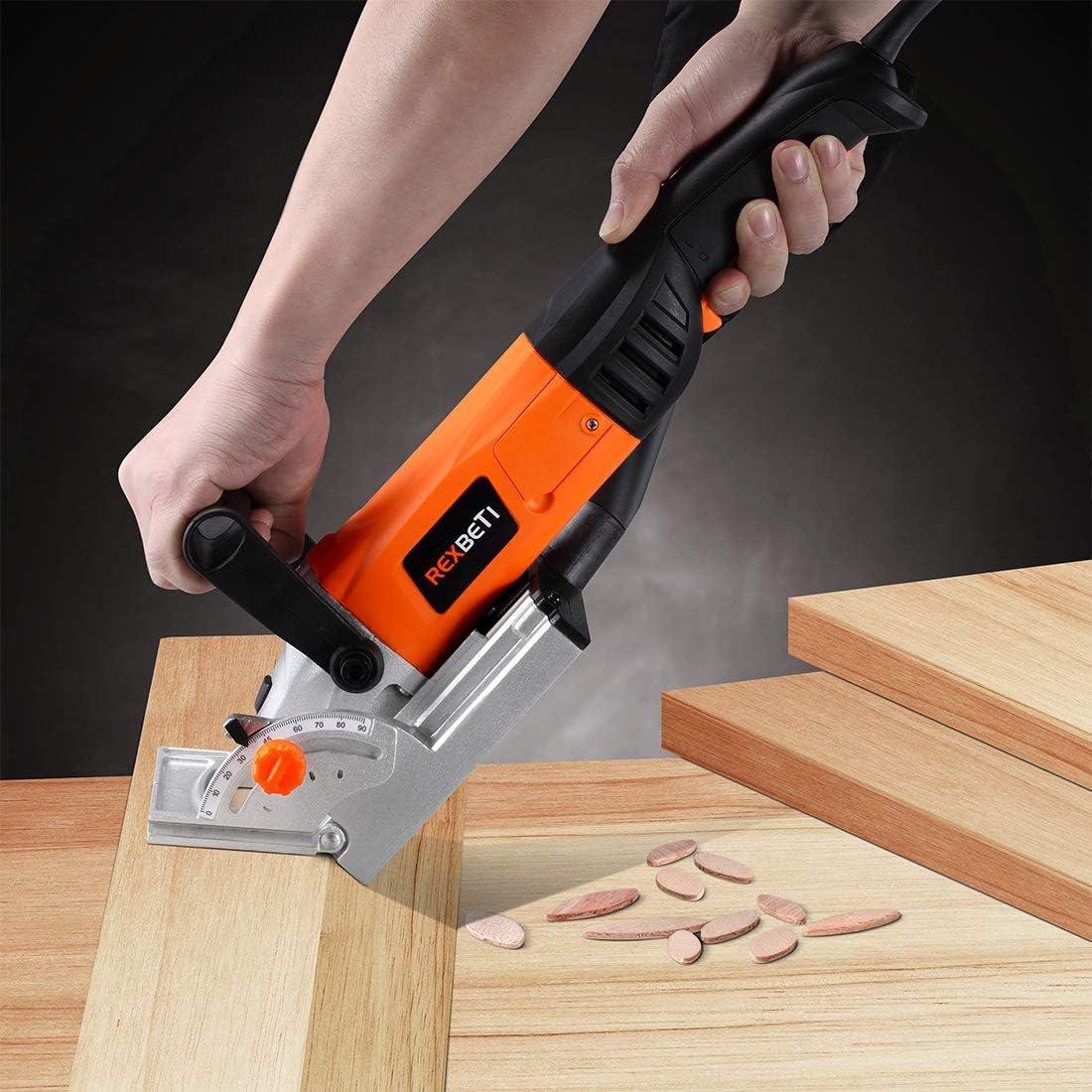 madera de haya, 150 piezas tama/ño 0,10,20 Hacer muebles de madera//pieza de trabajo perfectamente alineados Brackit Juego de galletas para juntas