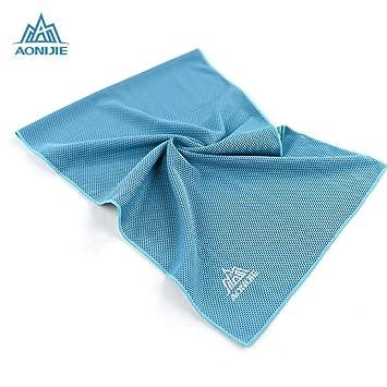 Naisidier - Toalla de refrigeración Multifuncional, hipotermia, para Gimnasio, Golf, Yoga,