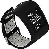 TRUMiRR para Fitbit Surge Correa de Reloj, Cubierta Protectora Doble de la Goma de Silicona del Color con el Marco de la Caja de los Deportes de la Correa para Fitbit Surge Fitness Smart Watch