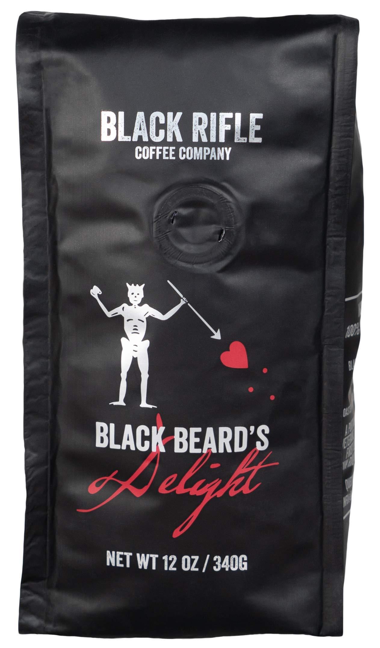 Black Rifle Coffee Company Blackbeard's Delight Coffee Dark Roast Ground, 12 Ounce Bag by Black Rifle Coffee Company (Image #2)