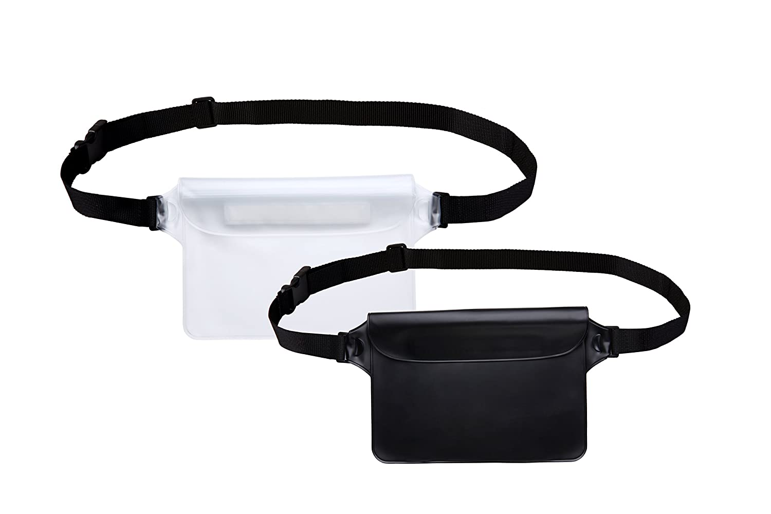 Best Way to Keep Your Phone and Valuables Safe and Dry Perfect for Boating Swimming Snorkeling Kayaking Beach Pool Water Parks White Outlander Waterproof Pouch with Waist Strap