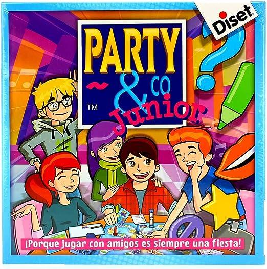 Diset Party & Co Junior: Amazon.es: Juguetes y juegos