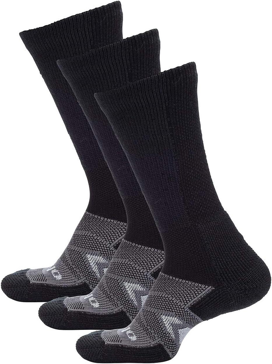 thorlos unisex-adult Wcxu Max Cushion 12 Hour Shift Crew Socks