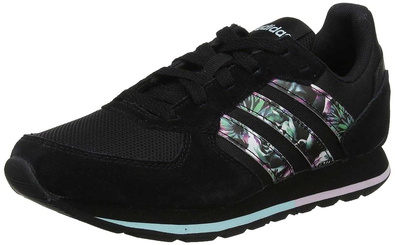 adidas 8k W, Zapatillas de Gimnasia Para Mujer 40 EU|Negro (Negbas / Negbas / Agucla 000)