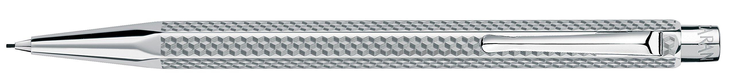 Caran d'Ache Ecridor Cubrik Silver 0.7mm Mechanical Pencil by Caran D'ache (Image #1)