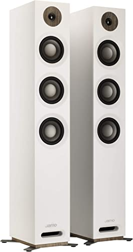 Jamo Studio Series S809 Floorstanding Speaker Pair White
