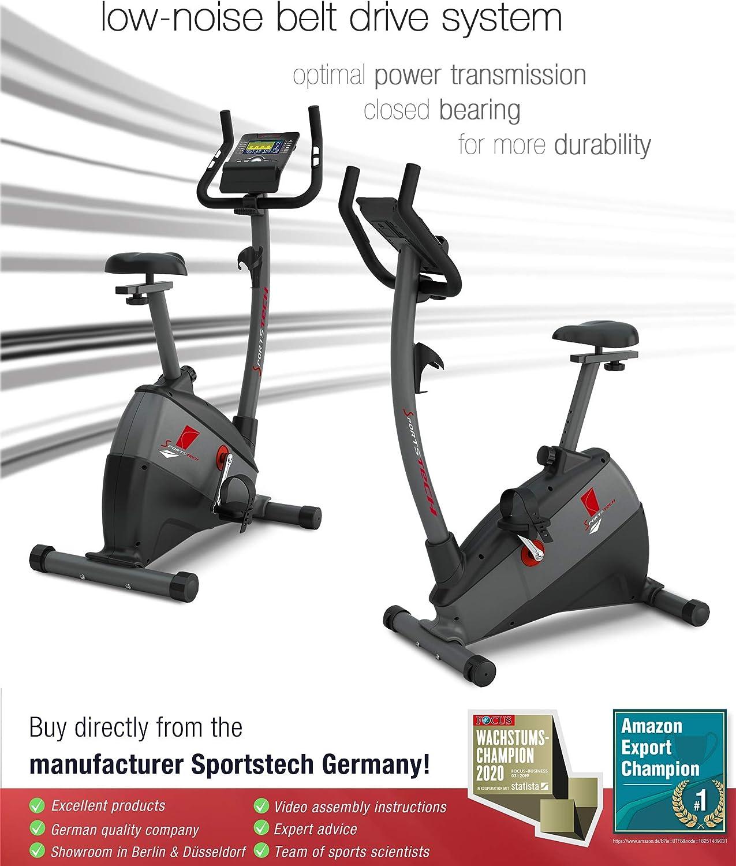 Sportstech ESX500 Bicicleta estática - Marca de Calidad Alemana ...