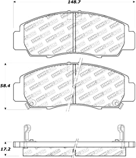 StopTech 309.05870 Street Performance Front Brake Pad