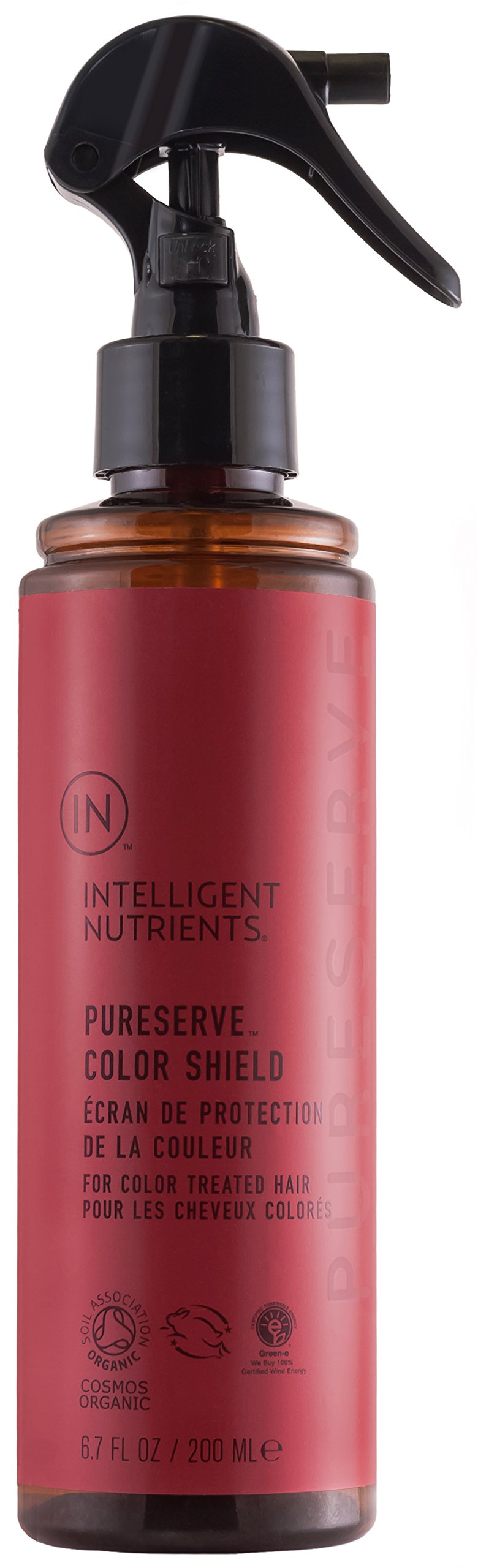Intelligent Nutrients PureServe Color Shield - Spray for Color-Treated Hair, Protect & Extend Hair Color (6.7 oz)