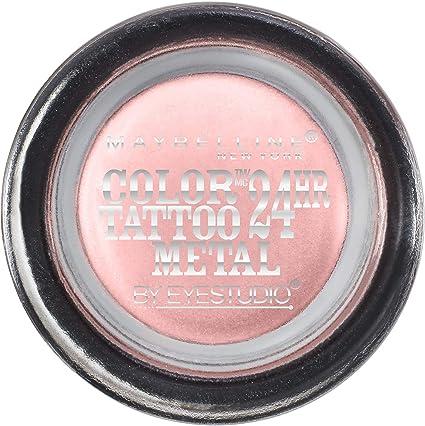 MAYBELLINE - EyeStudio Color Tattoo Metal 24hr Cream Gel Shadow 55 ...