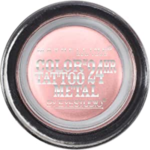 Maybelline Colour Tattoo 24HR Cream Gel Eyeshadow - Inked In Pink,4g