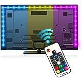 TV LED posteriore di illuminazione Kit (78.7in / 2m) - EveShine multicolore RGB TV LED Retroilluminato con Kit di Illuminazione a Fasce per TV LCD a Schermo Piatto, Desktop Monitor - adatto a qualsias