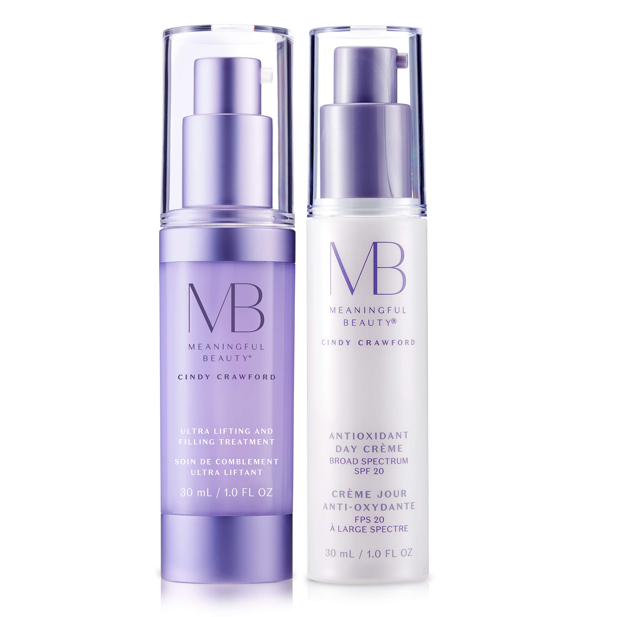 Meaningful Beauty - Renewing Day Protection System - for Firming and Radiance - 2 Piece Kit - MT.2060 by Meaningful Beauty