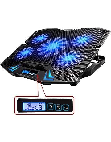Topmate K5 - Base de refrigeración para ordenador portatil de 12 a 15,6 pulgadas