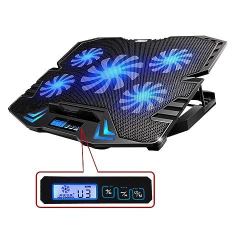 Image result for TopMate K5 Gaming Laptop Cooler:
