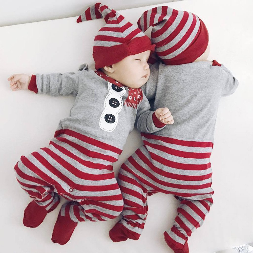 Weiyun Baby Boys Girls Kid Rompers Children Winter Thick Cotton Warm Clothes Jumpsuit