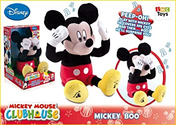 Mickey Mouse Cucu Boo Plush Doll Peluche Interactive IMC Toys- 181281