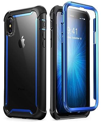 c2ca6d3ba0a i-Blason Ares Funda para teléfono móvil Negro, Azul - Fundas para teléfonos  móviles