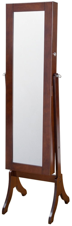 インテリアジュエリー収納ミラーハイタイプ ブラウン OSK-ST107(BR) B006W0ZXWM ハイタイプ|ブラウン ブラウン ハイタイプ