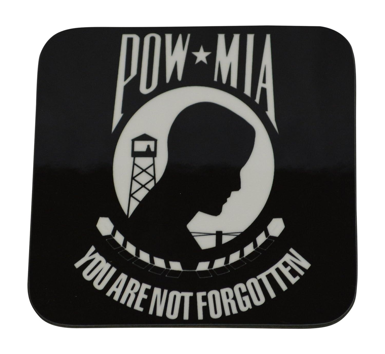 POW,MIA  Drink Coaster,