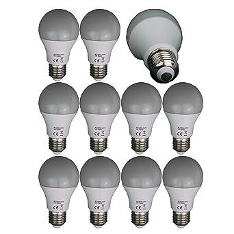 10 LED lámpara E27 5 W Bombilla Bombilla Bajo Consumo Bombilla Lámpara de luz blanca fría