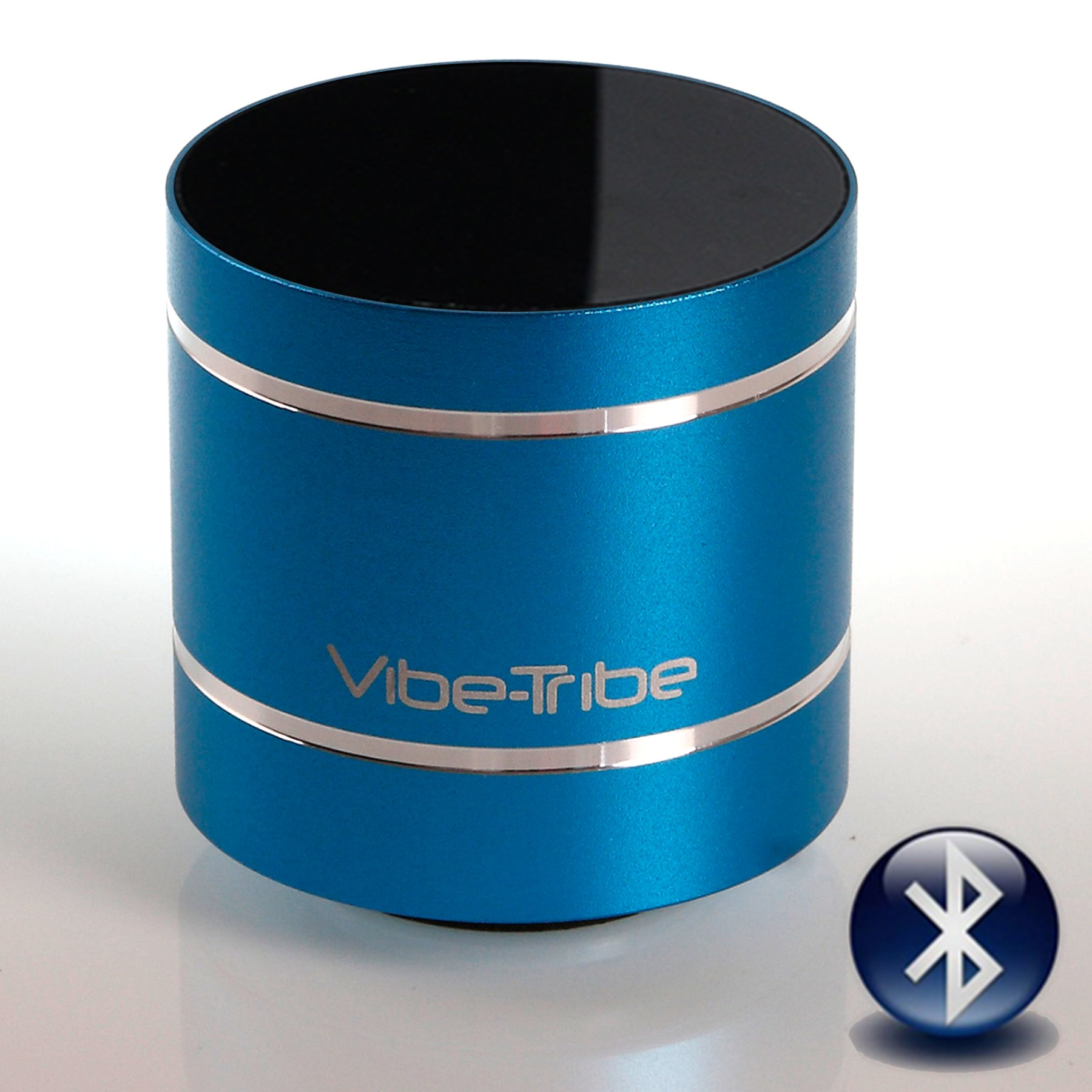 Vibe-Tribe Troll 2.0: 10W Compact Bluetooth Vibration Speaker Turquoise