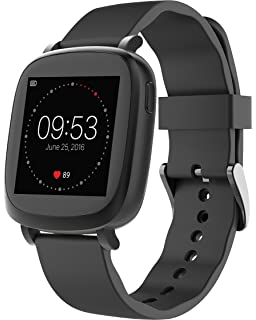 3Plus Vibe Activity Tracker Smart Watch with Heart Rate Monitor, Calorie Counter, Pedometer for