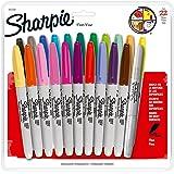 Sharpie 1812761 Marcador Permanente Punto Fino, 22 Colores Surtidos