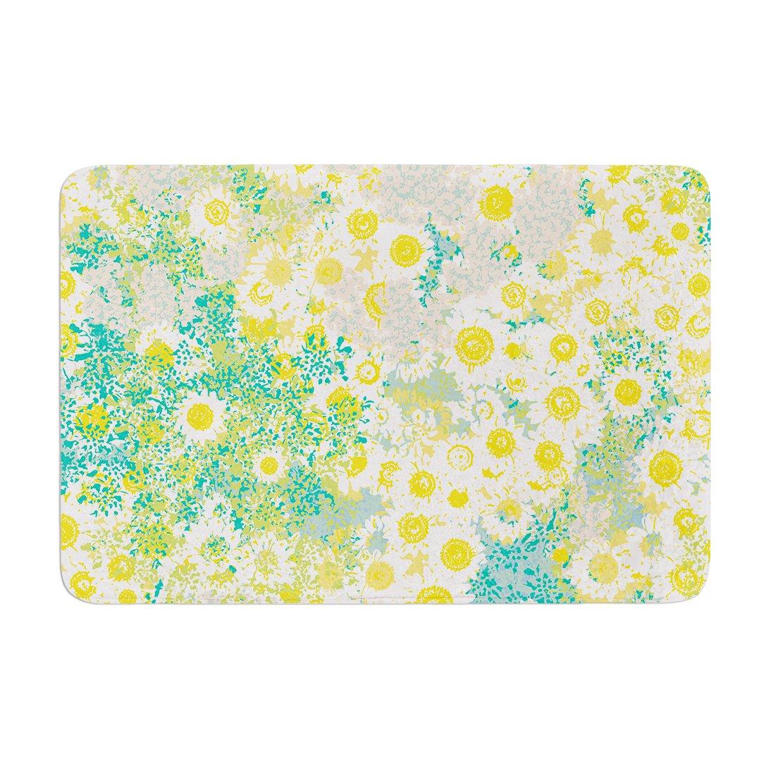 17 by 24 Kess InHouse Kathryn Pledger Myatts Meadow Memory Foam Bath Mat