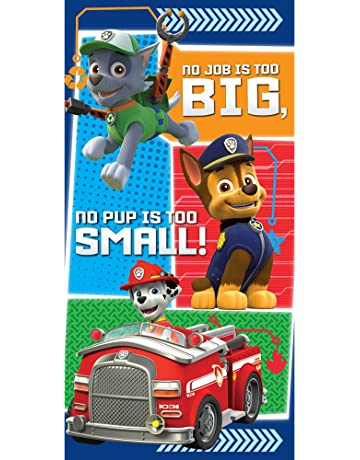 Toalla Patrulla Canina Paw Patrol No job is too big