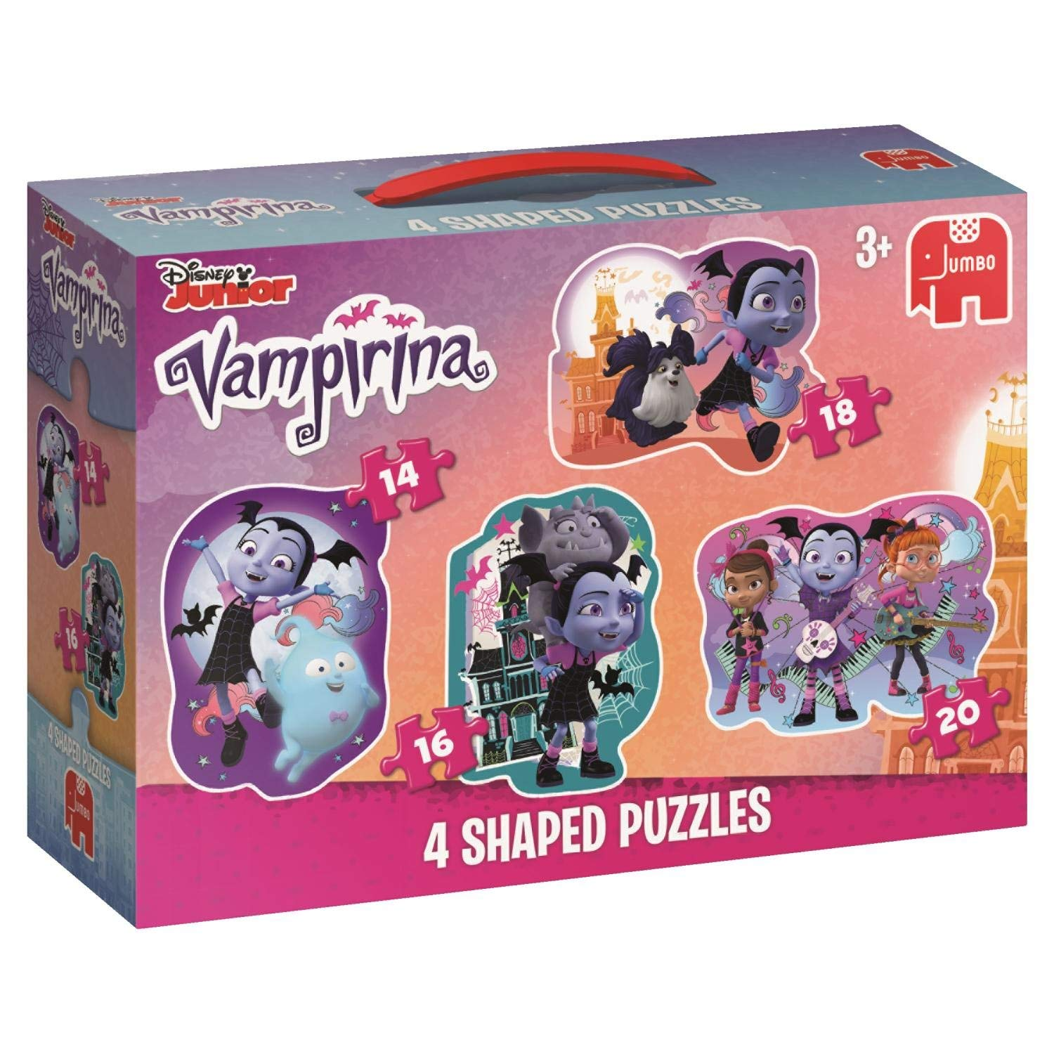Vampirina 4 in a Box Puzzles 14 16 18 20 Ages 4 and Up Vampire