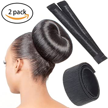 Chronex Women S And Girl S Perfect Hair Making Styling French Twist Donut Bun Hairstyle Tool