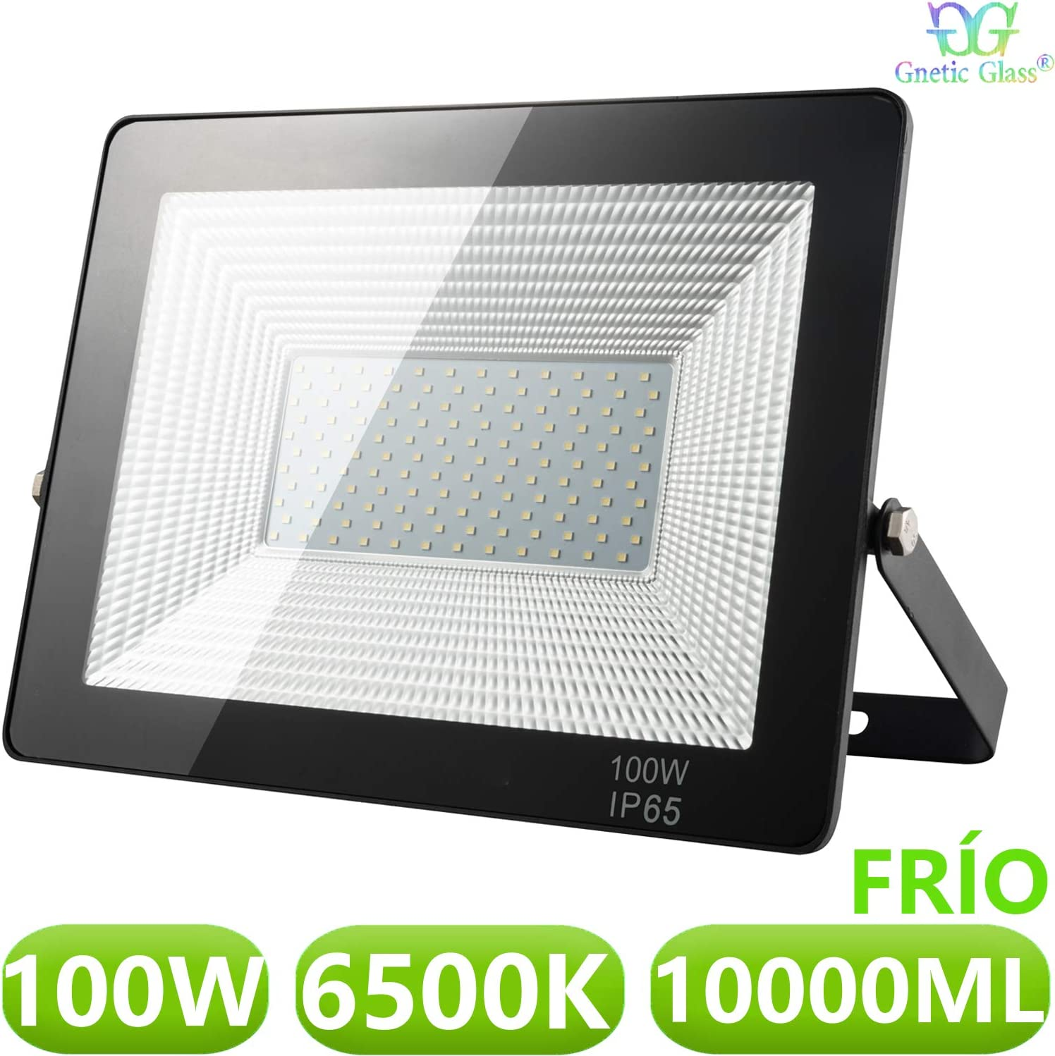 Foco LED exterior Floodlight 100W GNETIC GLASS Proyector ...