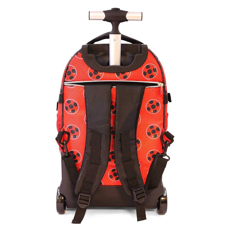 e711949528 Ladybug Miraculous e Cat Noir Zaino Trolley Scuola Astuccio Triplo Set  Colazione Ragazza Bambina MARINETTE: Amazon.it: Valigeria