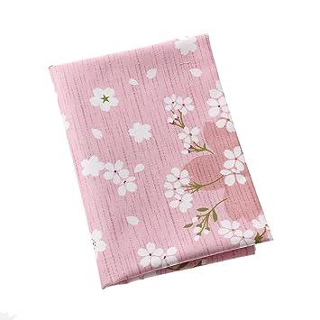 FOVIUPET 6 piezas 50 x 40 cm 100% algodón tela flor estampado costura textil muñeca ropa hecha a mano bricolaje manualidades: Amazon.es: Hogar