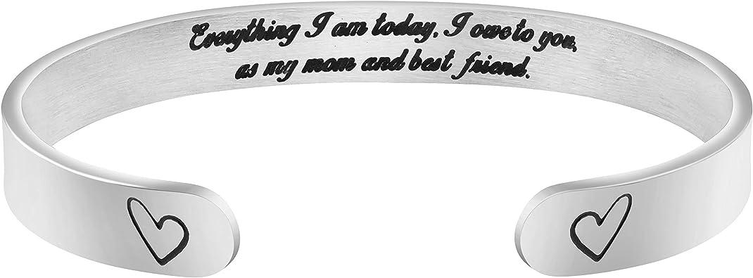 Animal Mom Bracelet Cuff Cute Handmade Metal Bracelet Mothers Day Funny Gift Gift For Mom Funny Bracelet Cuff DOG MOM Aluminum Bracelet